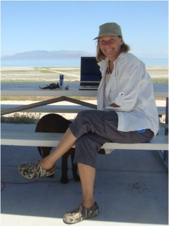 Ros on Antelope Island