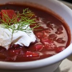 Slow Cooker (Crockpot) Chunky Borscht