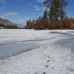 Thin Ice: Last Walk on the Lake this Winter