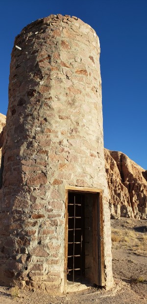 CCC Water Tower at Cathedral Gorge State Park