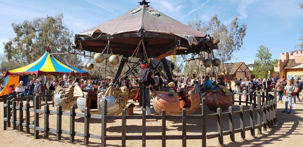 Merry-go-round Arizona Renaissance Festival