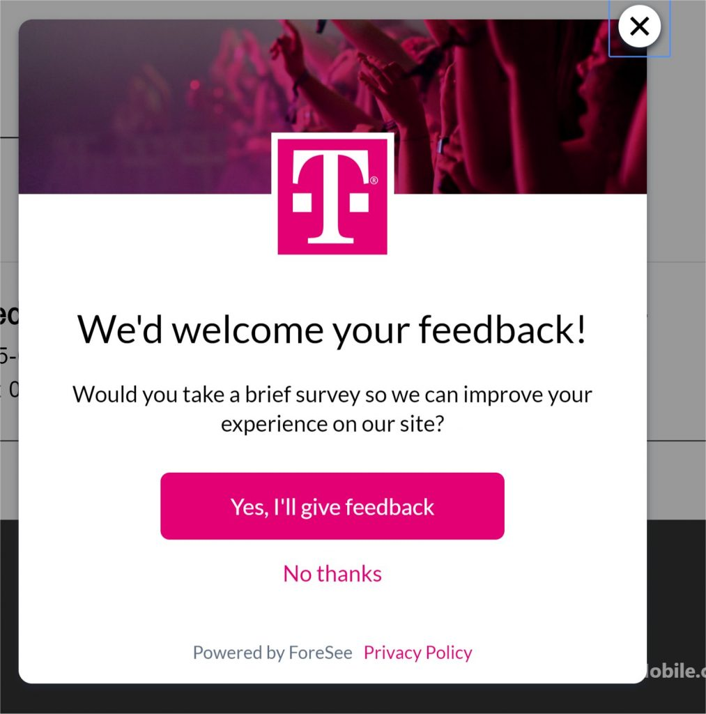 T-Mobile Feedback